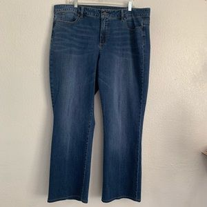 Talbots | Signature boot cut blue jeans 18